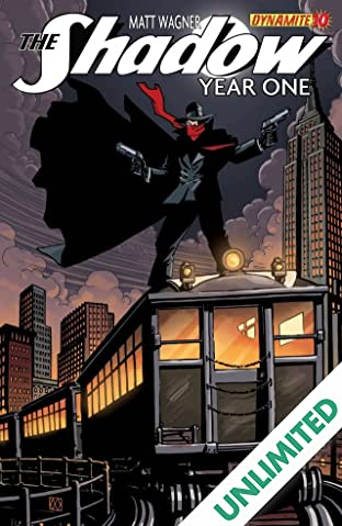 The Shadow: Year One #10 (of 10): Digital Exclusive Edition